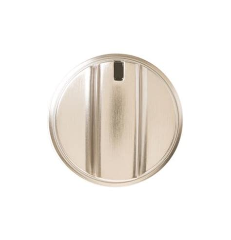 Stainless Steel Oven Knobs by Wb03x24818 Range Knob Stainless Steel Ge Parts