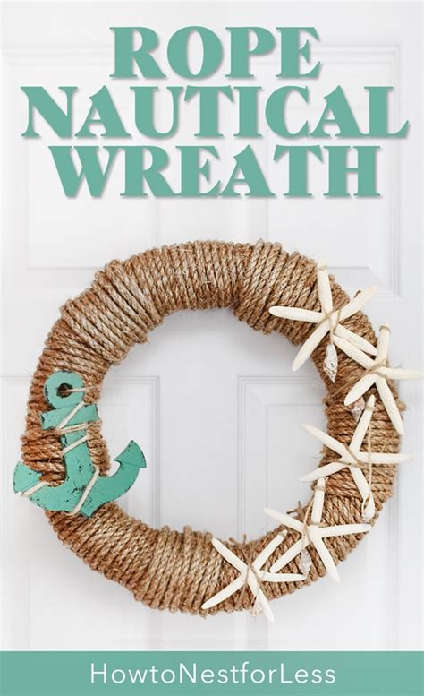 rope nautical wreath   nest