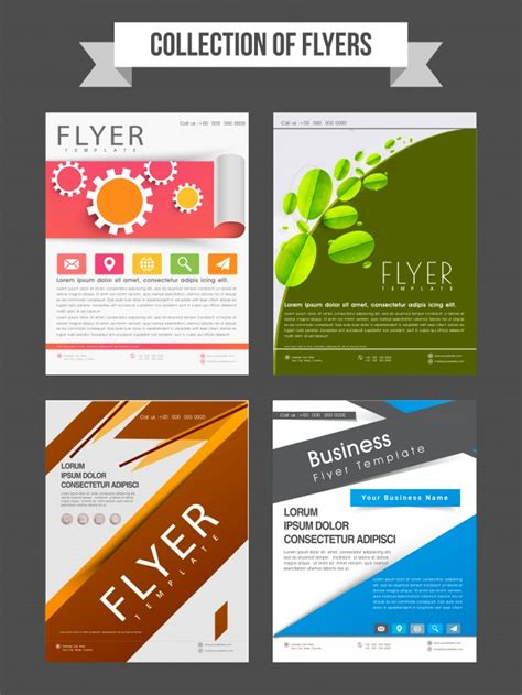 free professional flyer templates professional business flyers or templates collection