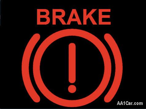 mercedes brake light warning brake warning light