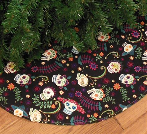 put sugar in xmas tree sugar skull tree skirt sugar skull culture