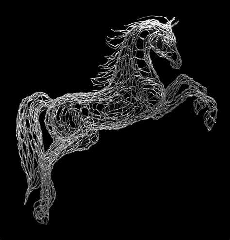 wire pictures world class wire sculpture by elizabeth berrien horses