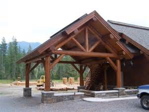 Timber Frame Carports timber frame shell carport new house