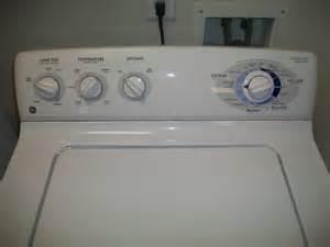 Ge Dryer Start Knob Broken by Ge Washer Dryer Electric Set White Clean Motohouston