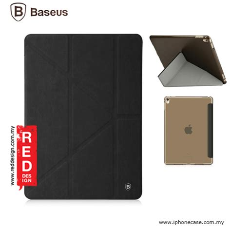 Baseus Terse Leather With Pen Bag For Pro Blue Pink apple pro 9 7 baseus terse leather y stand for pro 9 7 black
