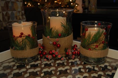 Centerpieces For Tables by Christmas Candle Centerpiece Made2style