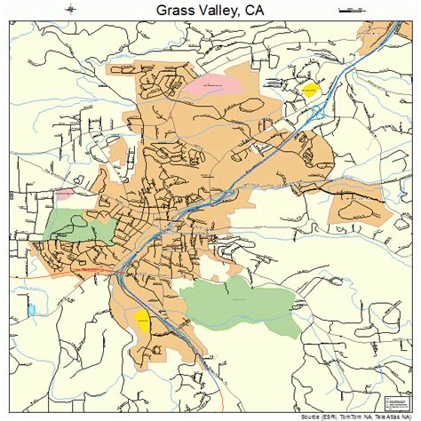 california map valley grass valley ca pictures posters news and on
