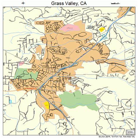 california map grass valley grass valley california map 0630798