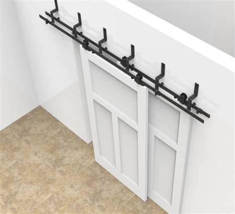 Double Track Barn Door Hardware Living Cabinet Hardware Barn Door Track Hardware