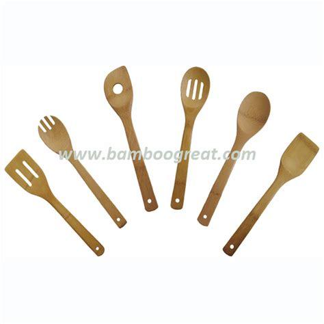anti bacterial bamboo kitchen utensil set buy