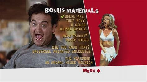 Color Palette For Website national lampoon s animal house 1978 dvd movie menus
