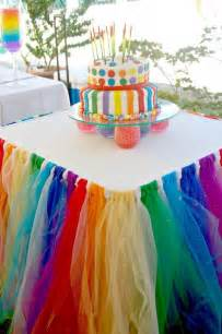 diy rainbow party decorating ideas for kids hative