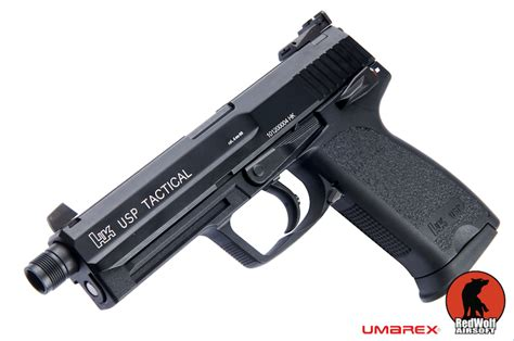 buy umarex h k usp 45 tactical gbb pistol black 16mm