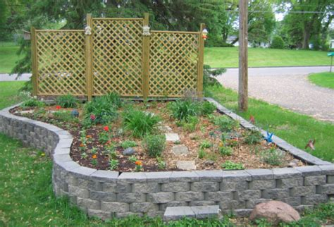 Garden Blocks by Raised Bed Garden Landscape Blocks Kittycooks
