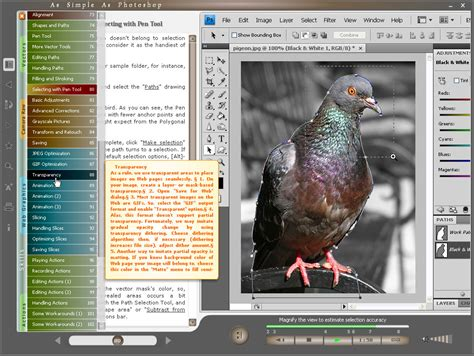 tutorial of photoshop cs5 free download choosing topic in the table of contents