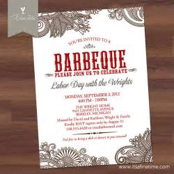 shower invitations western theme bbq invitation bridal or couples shower