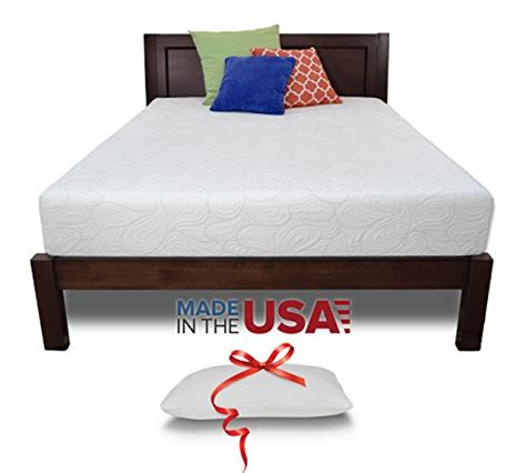 Mattress Sale Usa by Product Reviews Buy Resort Sleep King 10 Inch Luxury Memory Foam Mattress Made In Usa With