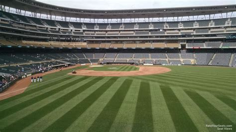 section 6 baseball 100 level outfield target field baseball seating