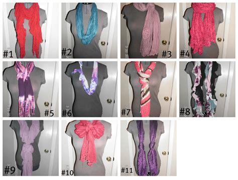 the crafty 11 ways to wear your scarf