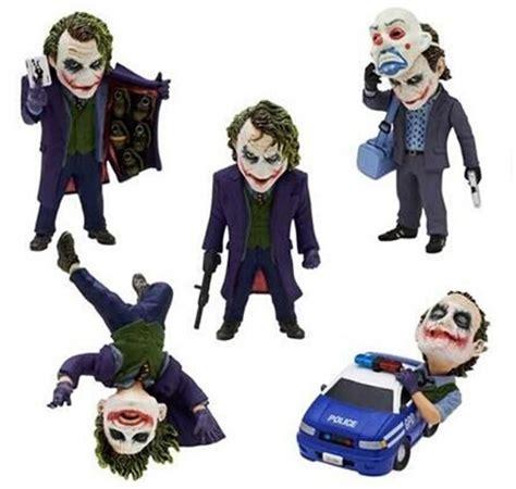 new 5cm q version 5pcs set justice league batman joker