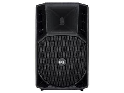 Speaker Rcf 10 Inch rcf 722a mk2 12 inch two way 1500w peak active speaker