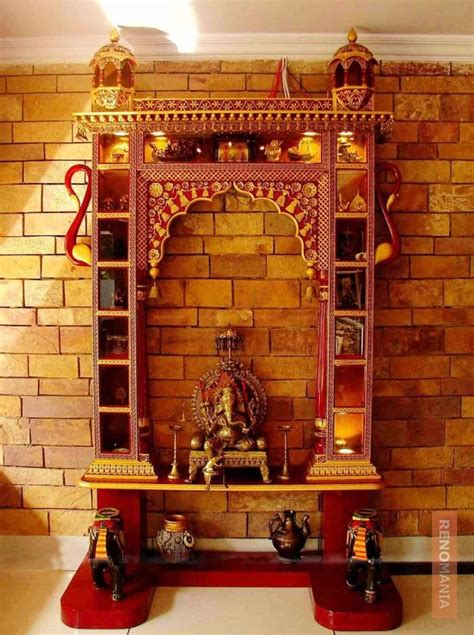 Interior Design Mandir Home 77 Best Puja Room Ideas Images On Pinterest Hindus Diy And Colors