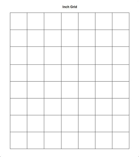 printable graph paper 1 8 inch pdf sle 1 inch graph paper 9 free documents in pdf