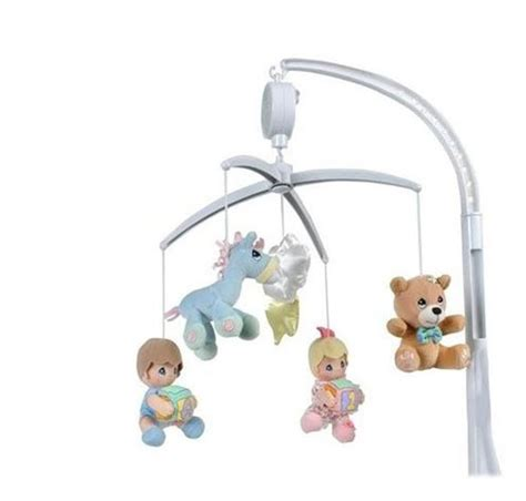 Precious Moments Nursery Decor Precious Moments Nursery Baby Decor N Care Plush Musical Mobile