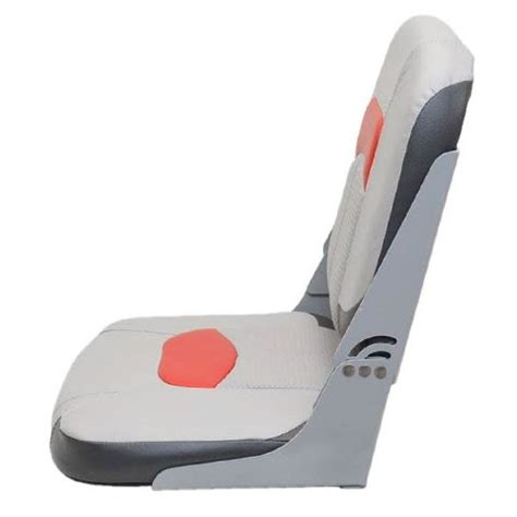 used boat bench seats tracker premium gray red black vinyl marine boat