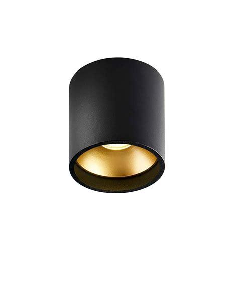 Deckenleuchte Schwarz by Rund Deckenleuchte Schwarz Gold Light Point