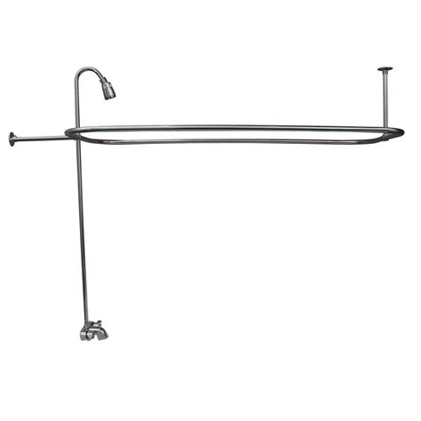 shower rod for clawfoot bathtub clawfoot tub shower rod and barclay products handle claw