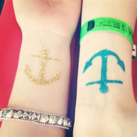 anchors away tattoo 17 best images about style on glitter tattoos