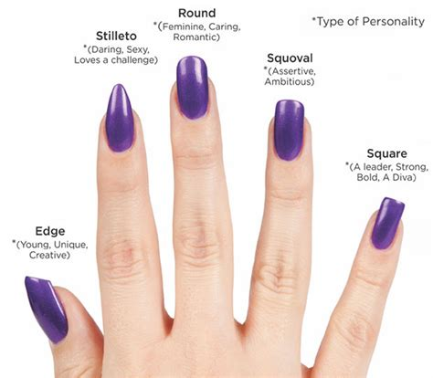 acceptable nail length nail shapes www ladylifehacks com