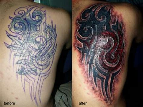 tribal back tattoo cover up side back tribal cover up designs inofashionstyle