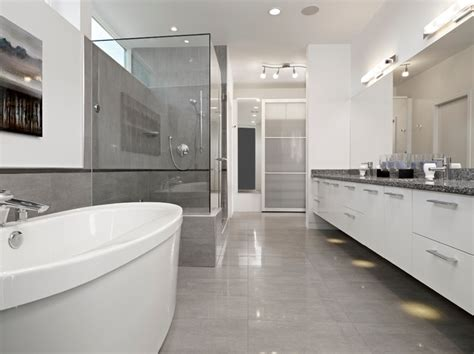 bathroom mirrors edmonton ensuite modern bathroom edmonton by habitat studio