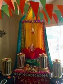 Ganpati Decoration Idea Homemade Ganpati Decoration Ideas Ganesh Pooja Ganpati