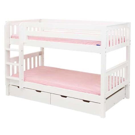 Low Bunk Bed Slatted Low Bunk Bed Rosenberryrooms
