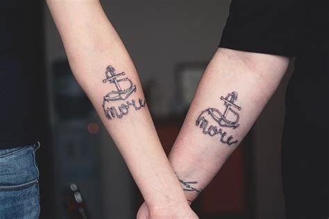 anchor couple tattoos anchor tattoos on forearms for tattooshunt
