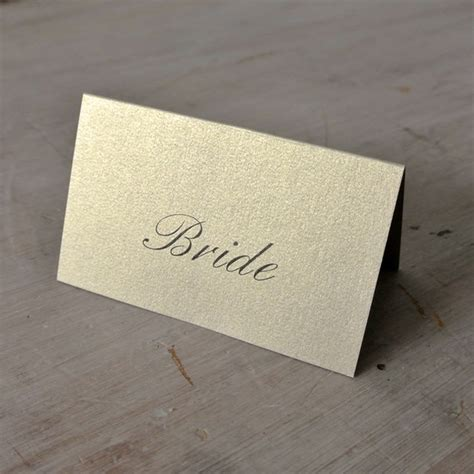 place cards personalised wedding place cards assorted colour options