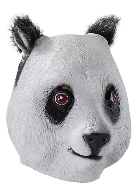 Masker Panda deluxe panda mask