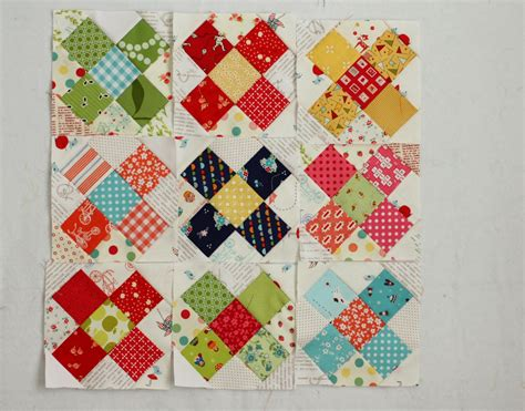 Quilt Diary by Great And Churn Dash Quilt Alongs Diary Of A
