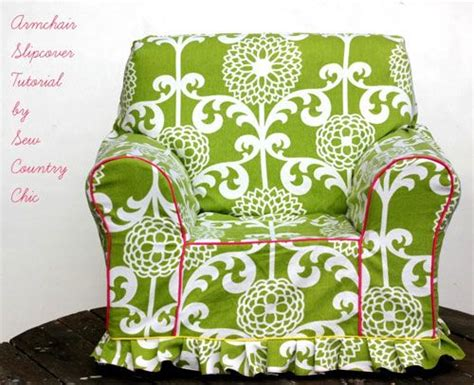 Armchair Slipcover Pattern by Armchair Slipcover Free Sewing Pattern Chair