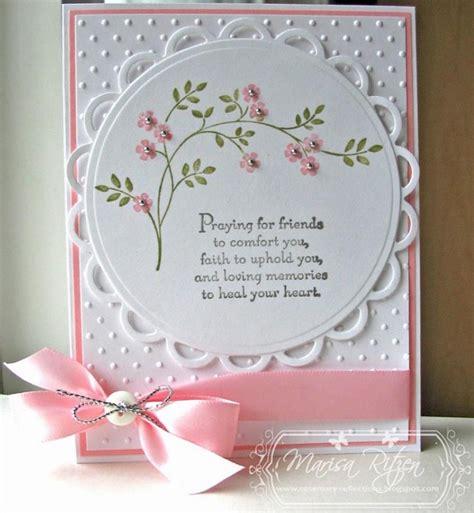 Handmade Sympathy Cards - handmade sympathy card by marisa ritzen cards
