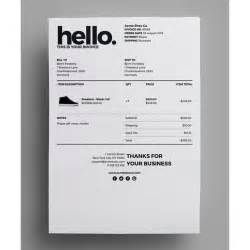 Design Invoice Template by 25 Best Ideas About Invoice Design On Invoice