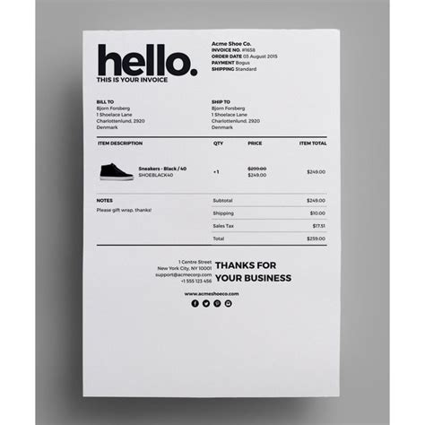 invoice form template 25 best ideas about invoice design on invoice