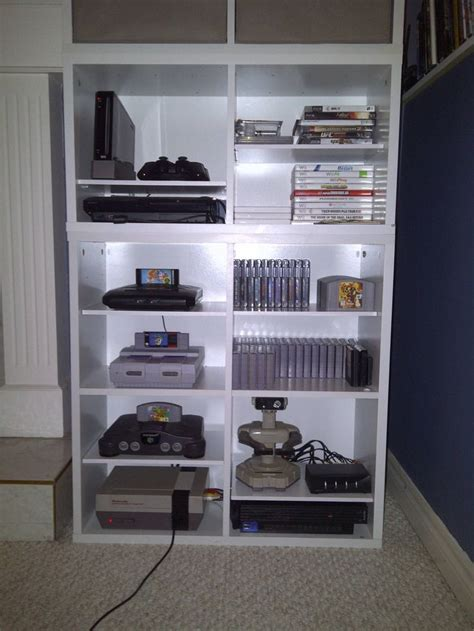 game storage ideas video game storage interior decor setups pinterest