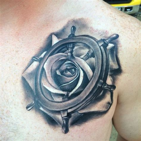 ship steering wheel tattoo 1000 ideas about ship wheel on nautical