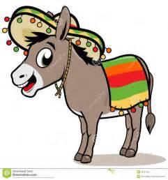mexican donkey with sombrero car interior design