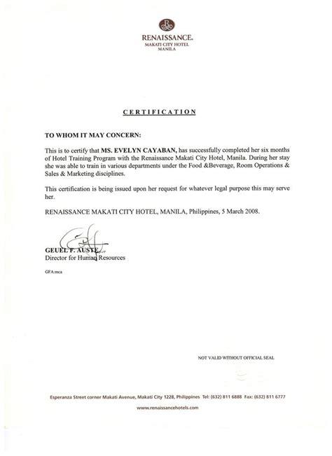 bristol certification letter 8 best hotel renaissance marriott managed