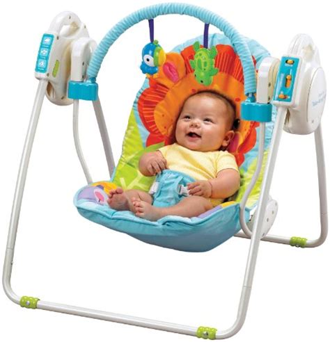 open top take along swing review fisher price precious planet open top take along